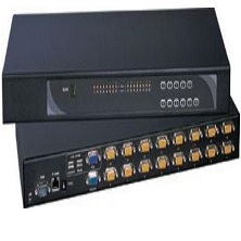 IP-1602-16 Port USB & PS 2 KVM-over-IP Internet KVM Switch