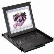 RKP117-S801e-17inches LCD Drawer 8-port DB-15 KVM Switch