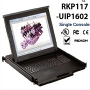 RKP117-UIP1602-17inches LCD KVM switch 16-port Cat6 over IP, internet