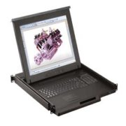 RKP119-IP1602-19 inches LCD 16-port KVM switch over IP, Internet