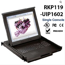 RKP119-UIP1602-19inches LCD KVM switch 16 port Cat6 over IP, internet