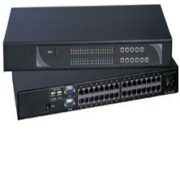 U-802 8-port Cat6 2-Console KVM Switch over Enthernet